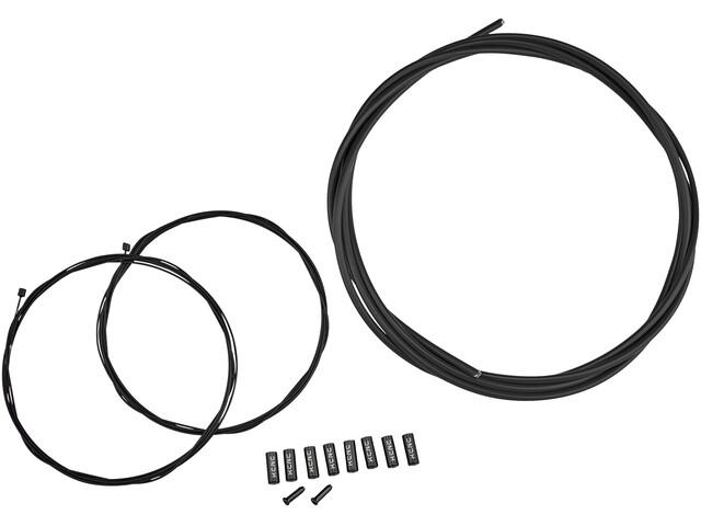 KCNC gearkabelsæt sort